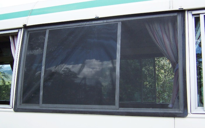 Recent Magnetic Insect Screen Applications